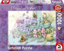 Kriek Bastin-flores cesta * Flower Basket-Schmidt puzzle 59572 - 1000 PCs.