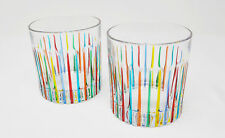 Murano Glass Highball Glasses - Handmade Imported Glass From Italy