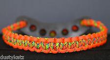 Archery bright & Neon Orange Bling Sling archery bow wrist sling strap FREE SHIP