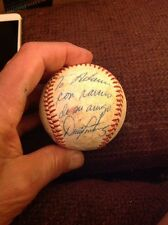 Orioles Expos DENNIS MARTINEZ Signed Baseball With Spanish