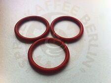 3 x O-Ring für den Kolben der DeLonghi Brühgruppe 35x4