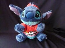 "Disney Store Stitch Snowman Plush 12"" Holiday Christmas Snowball Lilo Exclusive"