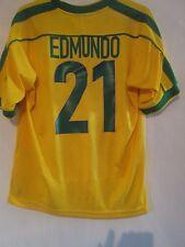 Brazil 1998-2000 Home Edmundo 21 Football Shirt Size Medium /40958