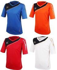 Mizuno Men GAME S/S T-Shirts Jersey Training White Red Blue Top Shirt P2MA501362