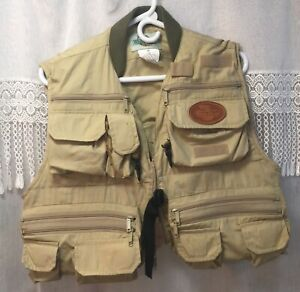 White River 26 Pocket Suspender Vest Fly Fishing Size Medium Perfect Condition