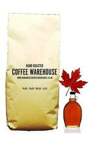 Maple Walnut Flavoured Coffee 100% Arabica Beans Freshly Roasted in UK!