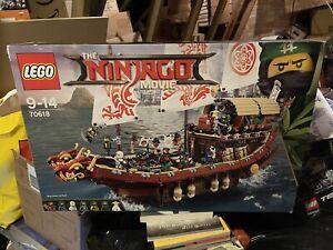 LEGO Ninjago Movie - Destiny's Bounty 70618 Complete Original Instructions + Box