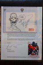 Cryptozoic Walking Dead Comic Redemption R24 Sketch Robert Kirkman Trading Card