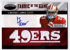 LaMichael James 2012 Panini Certified 6-Relic Jersey Auto Autograph #'d 16/25