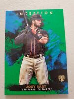 JOEY BART 2021 TOPPS INCEPTION GREEN ROOKIE CARD #36 SAN FRANCISCO GIANTS RC