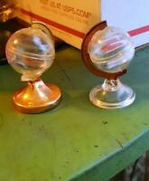Vintage Globes Salt Pepper Shakers out of this world