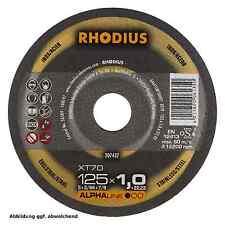 Rhodius Trennscheiben Alpha XT 70 115 x 1,0 x 22,23 mm  10 Stück