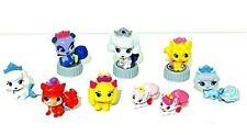 """Disney Princess Palace Pets Whisker Haven 9 PC Lot Mini Figure PVC Toys 1-2"""" EUC"""