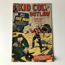 Vintage Kid Colt Outlaw Marvel Comic Issue 117 Meet The Fat Man