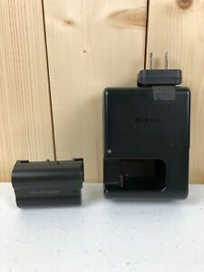 Nikon MH-25a Battery Charger With EN-EL15 Li-Ion Battery 27148