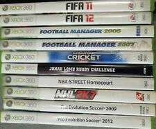 Xbox 360 Sports Game Bundle x10 - Preowned - Fast Dispatch