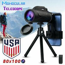 Usa Hd Monocular Starscope Phone Camera Zoom Lense+Tripod Bag Phone Telescope