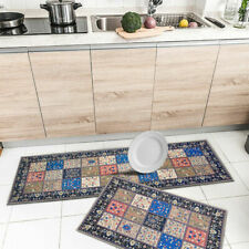 Modern Anti-Slip Washable Floor Kitchen Mats Easy Clean RugRunner Floor Bedroom
