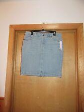 Sonoma Jean Skirts Below Knee size 12,10,8,6, Light Indigo Blue & Dark Blue NWT