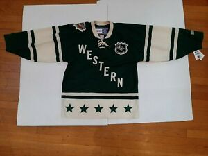 NWT 2004 NHL All Star Western Conference CCM Jersey Authentic Patched Mens M