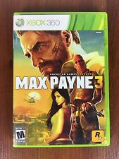 Max Payne 3 (Microsoft Xbox 360, 2012) CIB 2 Disc Set Complete CIB