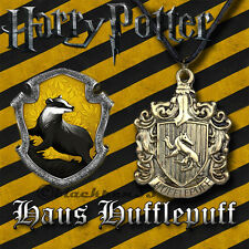 ❤️ Halskette, Anhänger Harry Potter Hufflepuff Haus Wappen