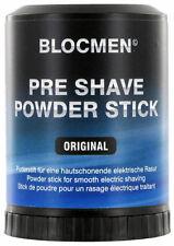 BLOCMEN ORIGINAL PRE SHAVE POWDER Stick di Polvere Prebarba Rasatura Elettrica
