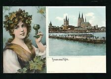Cologne Pre - 1914 Printed Collectable German Postcards