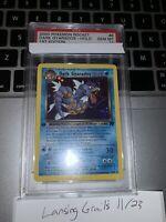 2000 Pokemon Team Rocket Dark Gyarados Holo 1st Edition PSA 10 Gem-Mint