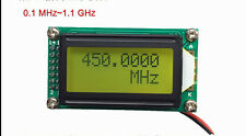 New 1MHz ~ 1.2GHz High precision frequency meter frequency measuring instrument
