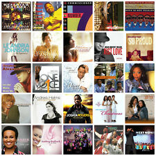 25 GOSPEL CD LOT Commissioned,Le'Andria Johnson,Take 6,Blind Boys of Alabama NEW