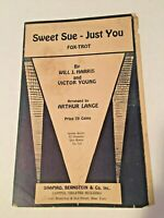 Vintage Violin Sheet Music SWEET SUE-JUST YOU Fox Trot by Harris and Young 1928