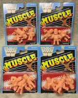 M.U.S.C.L.E. MEN wwf wwe wrestling LEGENDS super7 sdcc COMPLETE SET all 12