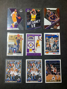 Anthony Davis LAKERS / MOSAIC /NBA HOOPS/ CONTENDERS / 9 CARD PLAYER LOT