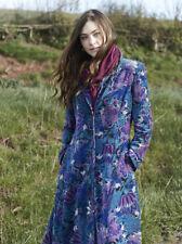 BNWT Nomads AURORA FLARED FITTED VELVET COAT Ethical Artisan Size 8 RRP £165