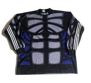 VINTAGE ADIDAS TEMPLATE Football Goalkeeper Shirt - 5 Day Flash Sale