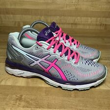Asics Gel-Kayano 23 T699N(2A) Athletic Running Shoes, Women's Size 8.5