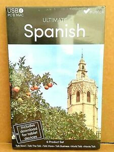 Eurotalk Ultimate SPANISH 6 in 1 USB, & Talk Now tablet download