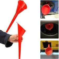 Long Plastic Funnel For Car/Motorcycle Fueling Funnel Kitchen Water fuel Spout
