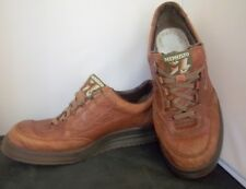 MEPHISTO - Men's Dark Tan Leather Lace Up Walking Shoes - SIZE 11