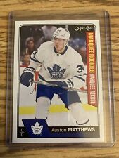 Auston Matthews 2016-17 Upper Deck OPC Marquee Rookies Rc Rookie #694
