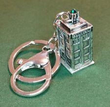 Dr Who Police Box 'TARDIS' Keychain Fob