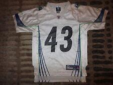 Troy Polamalu #43 Pittsburgh Steelers Super Bowl NFL Jersey Youth M 10-12 medium
