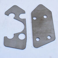Steering Box Mounts Chassis Repair Plates suit for Toyota Landcruiser 80 Series