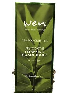 Wen Bamboo Green Tea Cleansing Conditioner 16 Oz Rice-Based Gluten Free In Box!