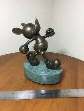 Mickey On Parade Bronze & Marble LE 10/50 Disney Chilmark Hudson Creek figurine