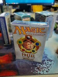 Mtg Portal deck Goblin Martial Law Sealed!!