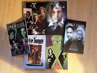 IDW X-FILES New Hardcover/TPB Six book SET/ LOT  Season 1, 2, 10, 11 +2 more