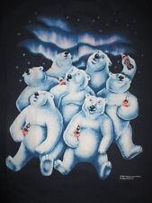 1994  COCA-COLA Coke POLAR BEARS Having a Coke (XL) T-Shirt