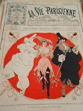 Les Premiers Grelots du Carnaval La Folie Couverture Print Cover 1908